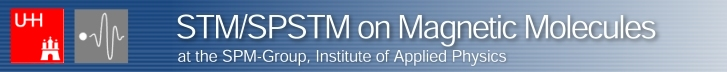 Logo STM/SPSTM on Magnetic Molecules, SPM-Group, Institute of Applied Physics, Hamburg