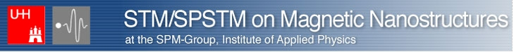 Logo STM/SPSTM, SPM-Group, Institute of Applied Physics, Hamburg