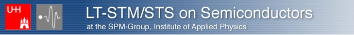 Logo STM/sts, SPM-Group, Institute of Applied Physics, Hamburg